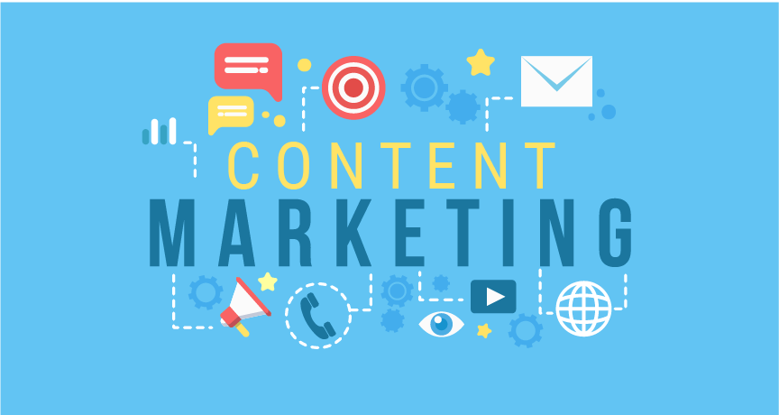 Portions Of Content Marketing Strategy